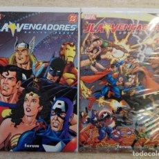 Cómics: JLA / VENGADORES COMPLETA. Lote 133656614