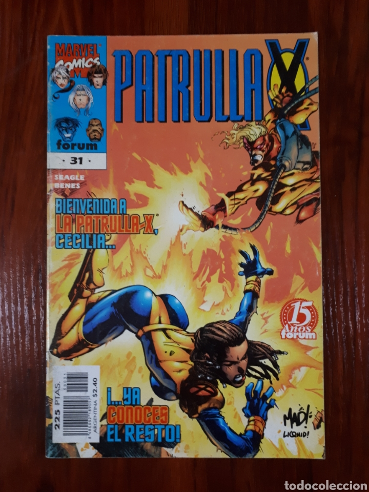 LA PATRULLA X - SERIE REGULAR - VOL 2 - NÚMERO 31 - MARVEL COMICS - FORUM (Tebeos y Comics - Forum - Patrulla X)