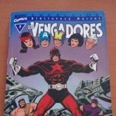 Cómics: LOS VENGADORES Nº 7.. Lote 133790823