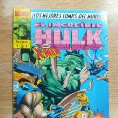 Cómics: INCREIBLE HULK VOL 1 (HULK VOL 3) #3. Lote 133956538