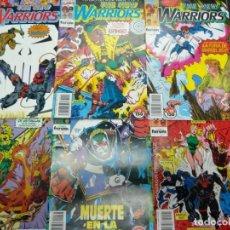 Cómics: THE NEW WARRIORS VOLUMEN 1 NÚMERO 18 CÓMICS FÓRUM MARVEL. Lote 133997146