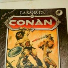 Cómics: LA SAGA DE CONAN, 5. LA CANCIÓN DE RED SONJA.. Lote 134007675