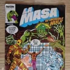 Cómics: LA MASA VOL. 1 Nº 15 EL INCREÍBLE HULK MARVEL FORUM AÑO 1983 LA VENGANZA DE LOS U-FOES. Lote 134016210