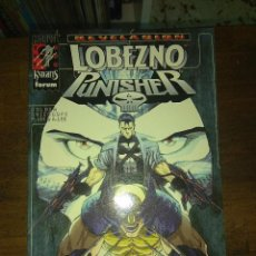 Cómics: LOBEZNO PUNISHER: REVELACIONES (MARVEL KNIGHTS, FORUM). Lote 134019158