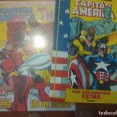 Cómics: CAPITAN AMERICA 1 AL 76 COMPLETA VOL.1 FORUM +TOMO NUMEROS EXTRA. Lote 134024778
