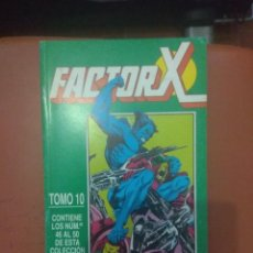 Cómics: RETAPADO FACTOR X VOL.1 FORUM 46 AL 50. Lote 134025830