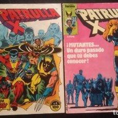 Cómics: PATRULLA X VOL 1 NºS #1 Y #2. Lote 134030046