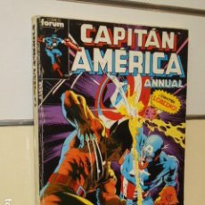 Cómics: RETAPADO CAPITAN AMERICA CONTIENE LOS Nº 21-22-23-24 Y 25 DE ESTA COLECCION - FORUM -. Lote 134033630