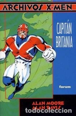 ARCHIVOS X MEN: CAPITÁN BRITANIA DE ALAN MOORE Y ALAN DAVIS - FORUM (Tebeos y Comics - Forum - Prestiges y Tomos)