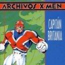 Cómics: ARCHIVOS X MEN: CAPITÁN BRITANIA DE ALAN MOORE Y ALAN DAVIS - FORUM . Lote 134049126