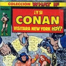 Cómics: COLECCION WHAT IF. COLECCION COMPLETA DE 70 NUMEROS + 3 EXTRAS. Lote 134092694