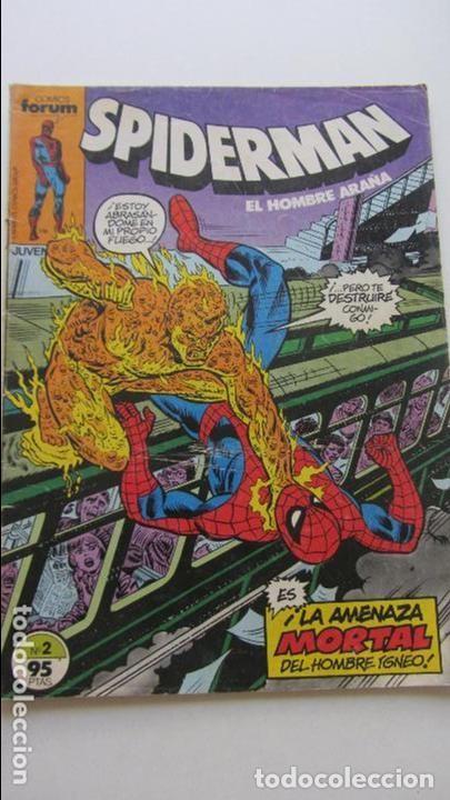 SPIDERMAN VOL. 1 Nº 2 - COMICS FORUM. (Tebeos y Comics - Forum - Spiderman)