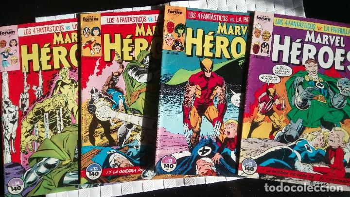 PATRULLA-X VS. LOS 4 FANTASTICOS EN MARVEL HEROES COMICS FORUM (Tebeos y Comics - Forum - Patrulla X)