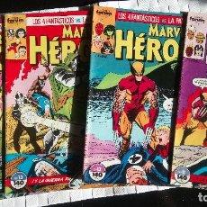 Cómics: PATRULLA-X VS. LOS 4 FANTASTICOS EN MARVEL HEROES COMICS FORUM. Lote 134124470