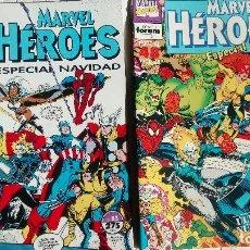 Cómics: MARVEL HEROES ESPECIALES NAVIDAD COMICS FORUM. Lote 134127262