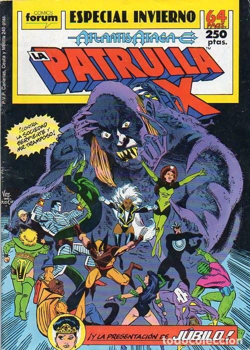 LA PATRULLA-X ESPECIAL INVIERNO 1989 - FORUM (Tebeos y Comics - Forum - Patrulla X)