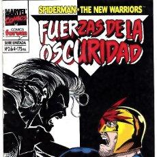 Cómics: FUERZAS DE LA OSCURIDAD - Nº 2 DE 4 - SPIDERMAN - THE NEW WARRIORS - FORUM -. Lote 134151562