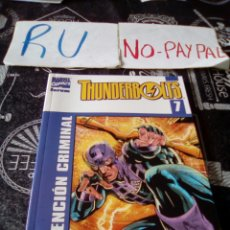 Cómics: THUNDERBOLTS 7 MARVEL COMICS FORUM INTENCIÓN CRIMINAL. Lote 134164690