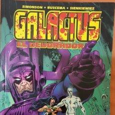 Cómics: GALACTUS EL DEVORADOR. TOMO FORUM. Lote 134178702