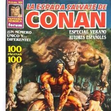 Cómics: LA ESPADA SALVAJE DE CONAN - Nº 10 - FANTASIA HEROICA - FORUM -. Lote 134199634