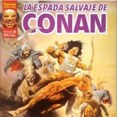 Cómics: LA ESPADA SALVAJE DE CONAN - Nº 8 - FORUM - SERIE ORO -. Lote 134200002