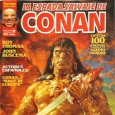 Cómics: LA ESPADA SALVAJE DE CONAN - Nº 10 - FORUM - SERIE ORO -. Lote 134200066