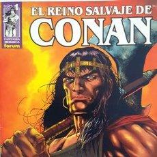 Cómics: EL REINO SALVAJE DE CONAN - Nº 1 - FORUM - FANTASIA HEROICA - -. Lote 134200434