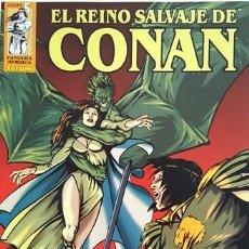 Cómics: EL REINO SALVAJE DE CONAN - Nº 5 - FORUM - FANTASIA HEROICA - -. Lote 134200530
