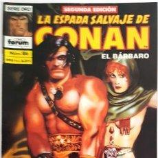 Cómics: LA ESPADA SALVAJE DE CONAN - Nº 86 - EL BARBARO - - FORUM - SERIE ORO -. Lote 134200830