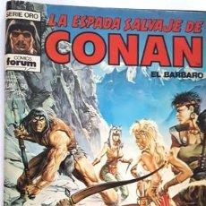 Cómics: LA ESPADA SALVAJE DE CONAN - Nº 90 - EL BARBARO - - FORUM - SERIE ORO -. Lote 134200914