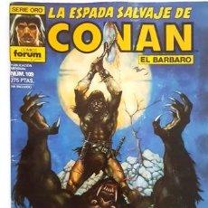 Cómics: LA ESPADA SALVAJE DE CONAN - Nº 109 - EL BARBARO - - FORUM - SERIE ORO -. Lote 134201002
