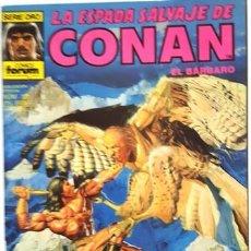 Cómics: LA ESPADA SALVAJE DE CONAN - Nº 121 - EL BARBARO - - FORUM - SERIE ORO -. Lote 134201086