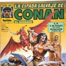 Cómics: LA ESPADA SALVAJE DE CONAN - Nº 140 - EL BARBARO - - FORUM - SERIE ORO -. Lote 134201154