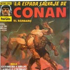 Cómics: LA ESPADA SALVAJE DE CONAN - Nº 141 - EL BARBARO - - FORUM - SERIE ORO -. Lote 134201250