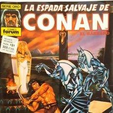Cómics: LA ESPADA SALVAJE DE CONAN - Nº 151 - EL BARBARO - - FORUM - SERIE ORO -. Lote 134201566