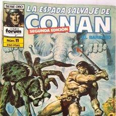 Cómics: LA ESPADA SALVAJE DE CONAN - Nº 11 - EL BARBARO - - FORUM - SERIE ORO -. Lote 134202846