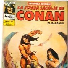 Cómics: LA ESPADA SALVAJE DE CONAN - Nº 38 - EL BARBARO - - FORUM - SERIE ORO - SEGUNDA EDICION -. Lote 134203074