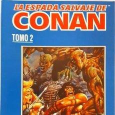 Cómics: LA ESPADA SALVAJE DE CONAN - TOMO 2 - EL BARBARO - FORUM - CONTIENE LOS Nº DEL 5 AL 8 -. Lote 134205634
