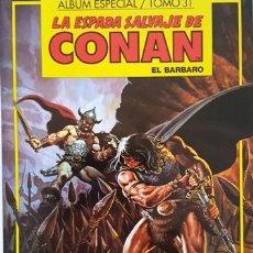Cómics: LA ESPADA SALVAJE DE CONAN - TOMO 31 - ALBUM ESPECIAL - EL BARBARO - FORUM - . Lote 134205958