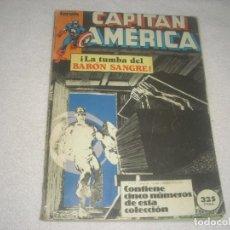 Cómics: CAPITAN AMERICA , RETAPADO . CONTIENE 5 NUMEROS DEL 11 AL 15.. Lote 134279046