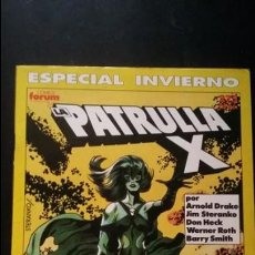 Cómics: PATRULLA-X ESPECIAL INVIERNO 1990 MUY BUEN ESTADO. Lote 134302558