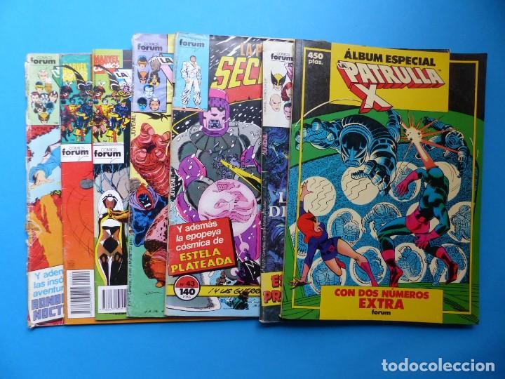 PATRULLA X - 7 COMICS DIFERENTES - MARVEL FORUM - VER FOTOS ADICIONALES (Tebeos y Comics - Forum - Patrulla X)