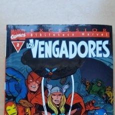Cómics: LOS VENGADORES BIBLIOTECA MARVEL EXCELSIOR Nº 2. BUEN ESTADO.. Lote 134601150