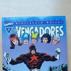 Cómics: LOS VENGADORES BIBLIOTECA MARVEL EXCELSIOR Nº 7. BUEN ESTADO.. Lote 134602046