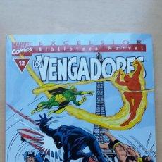 Cómics: LOS VENGADORES BIBLIOTECA MARVEL EXCELSIOR Nº 12. BUEN ESTADO.. Lote 134603010