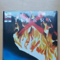 Cómics: TIERRA X. Nº 0 1 2 3 4 5 6 7 8 9 10 11 12 Y 13. MARVEL - FORUM. MUY BUEN ESTADO.. Lote 134616550