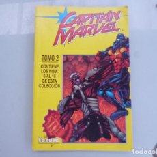 Cómics: CAPITAN MARVEL EXCELENTE ESTADO TOMO 2 DEL 6 AL 10 RETAPADO FORUM. Lote 134744458