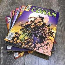 Cómics: LOTE EL REINO SALVAJE DE CONAN - FORUM - 2000 (12 CÓMICS). Lote 134750866
