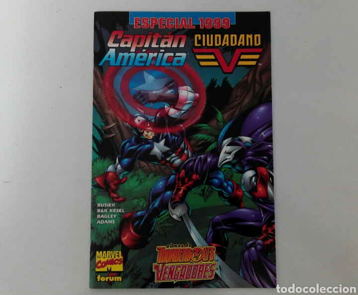 CAPITÁN AMÉRICA ESPECIAL 1999 CIUDADANO V EX (Tebeos y Comics - Forum - Capitán América)