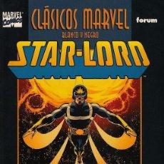 Cómics: CLASICOS MARVEL BLANCO Y NEGRO Nº 13 STAR LORD - FORUM - BUEN ESTADO - OFI15J. Lote 134819810